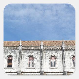 Monastery Hieronymites Square Sticker