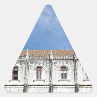 Monastery Hieronymites Triangle Sticker