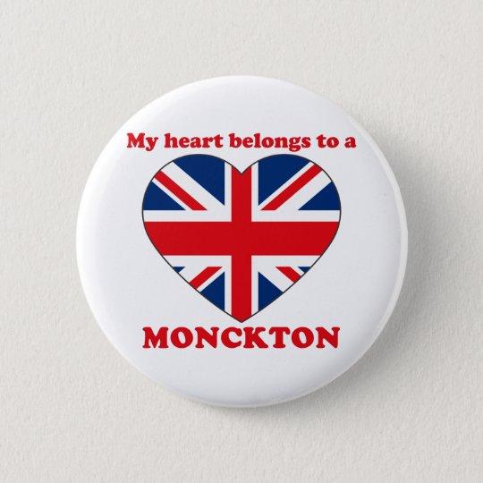 Monckton 6 Cm Round Badge