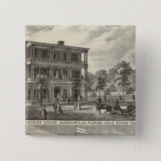 Moncrief House, Jacksonville 15 Cm Square Badge
