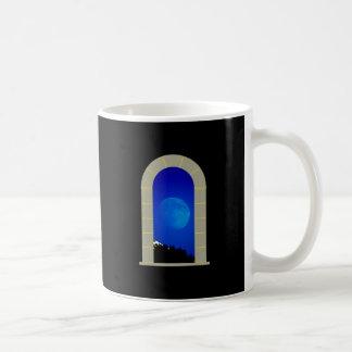 Mond Tor moon gate Kaffeetasse