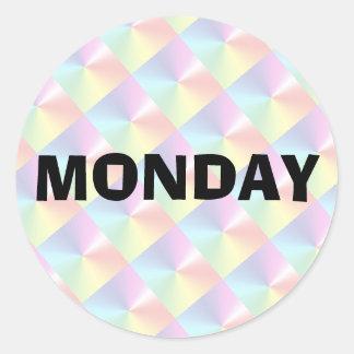 Monday Ad Lib Diamond Shimmer Sticker by Janz