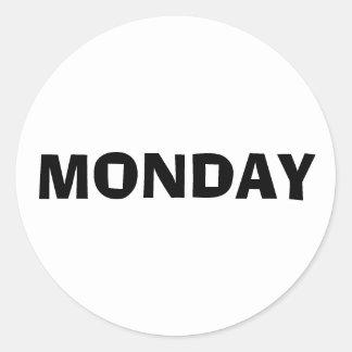 Monday Ad Lib White Sticker by Janz