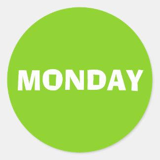 Monday Ad Lib Yellow Green Sticker by Janz