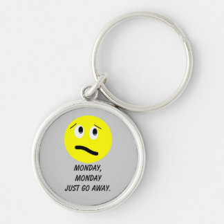 Monday Keychain