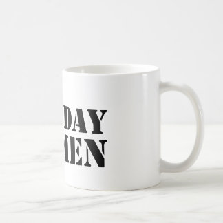 Monday Men logo mug