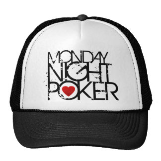 Monday Night Poker Hat