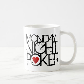 Monday Night Poker Coffee Mugs