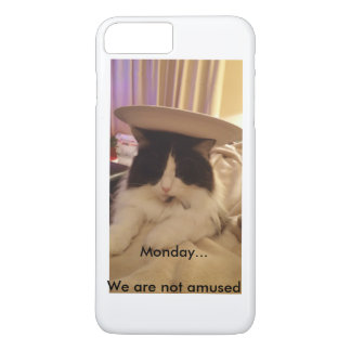 Monday... We are not Amused iPhone 8 Plus/7 Plus Case