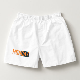 Monday's Boxer Boxers