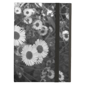 Mondern monochrome daisy ipad case
