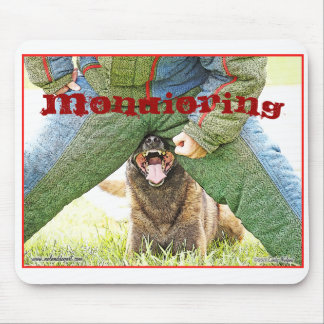 Mondioring dogsport Malinois design Mouse Pad