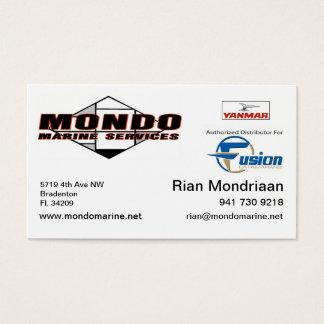 mondo updated car - rian business card