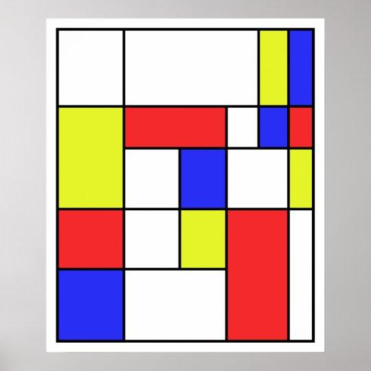 Mondrian #23 poster