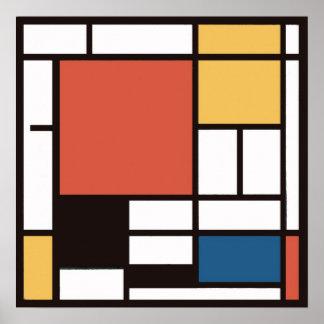 Mondrian 2 posters
