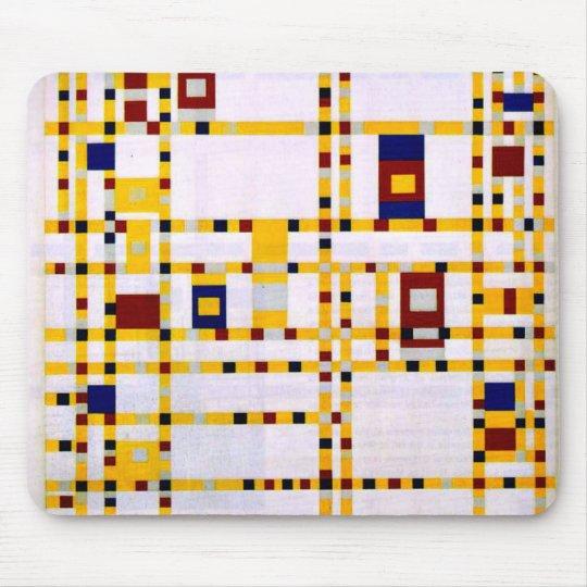 Mondrian - Broadway Boogie Woogie Mouse Mat