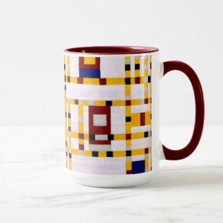 Mondrian - Broadway Boogie Woogie Mug