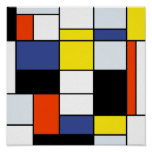 Mondrian - Composition A Extra Large