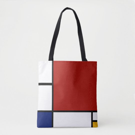 Mondrian Composition II in Red, Blue, and Yellow