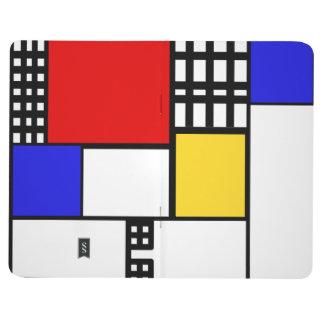 Mondrian Inspired Journal