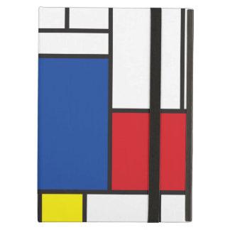 Mondrian Minimalist De Stijl Art Custom iPad Case