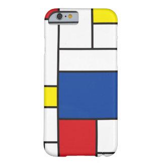 Mondrian Minimalist De Stijl Art iPhone 6 case