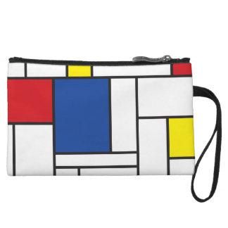 Mondrian Minimalist De Stijl Modern Art Clutch