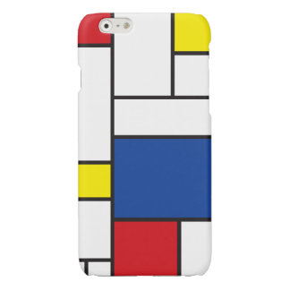 Mondrian Minimalist De Stijl Modern Art iPhoneCase iPhone 6 Plus Case