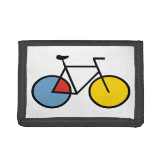 Mondrian Modern Art Bicycle Gift Wallet