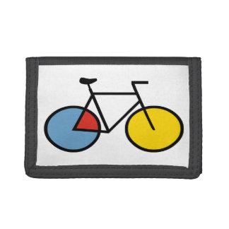 Mondrian Modern Art Bicycle Gift Wallet