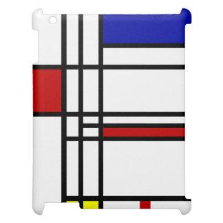 Mondrian Modern Art iPad Cases