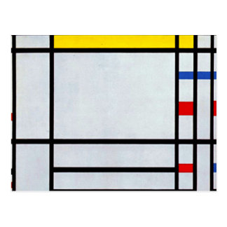 Mondrian - Place de la Concorde Postcard