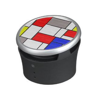 Mondrian style bluetooth speaker