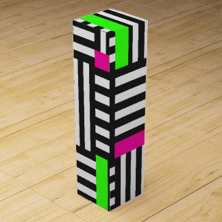 Mondrian style wine box