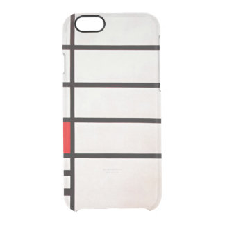 Mondrian - Trafalgar Square Clear iPhone 6/6S Case