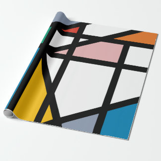 Mondriana Wrapping Paper
