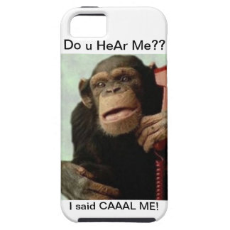 Moneky On phone Case For The iPhone 5