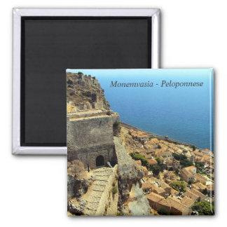 Monemvasia – Peloponnese Square Magnet
