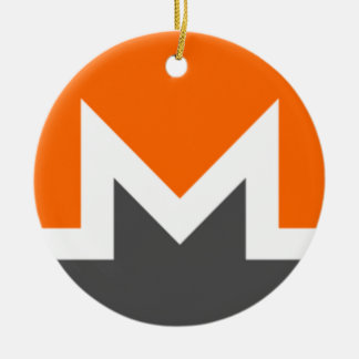 Monero Circle Hanging Ornament