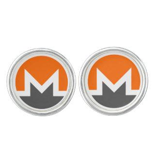 Monero Cufflinks, Silver Plated Cuff Links