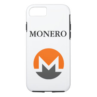 Monero Logo Apple iPhone 7, Tough Phone Case