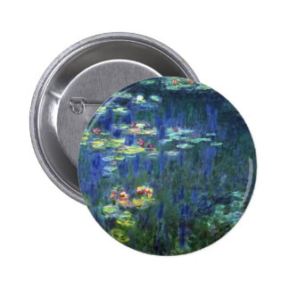 Monet 6 Cm Round Badge