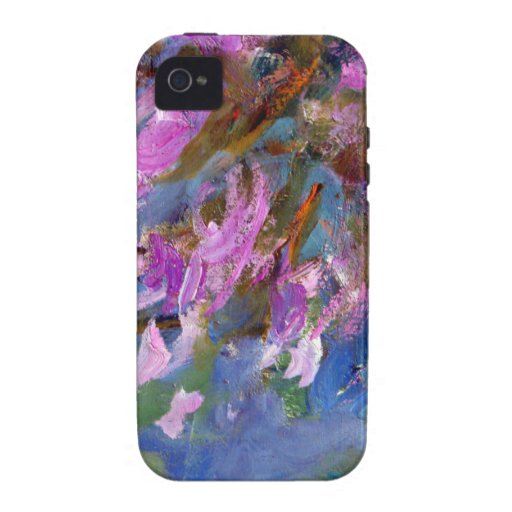 Monet Agapanthus Bed Case For The iPhone 4