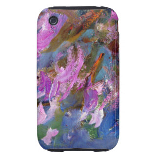 Monet Agapanthus Bed Tough iPhone 3 Cover