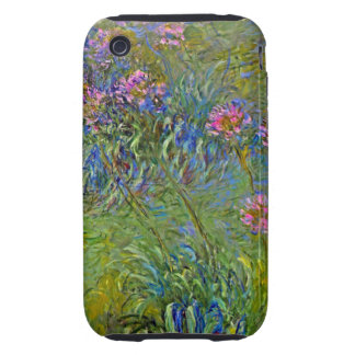 Monet Agapanthus iPhone 3 Tough Covers