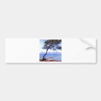 Monet Antibes Bumper Sticker