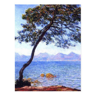Monet Antibes Postcard
