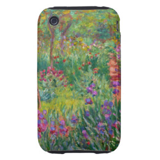 Monet - Artist's Garden at Giverny iPhone 3 Tough Cases