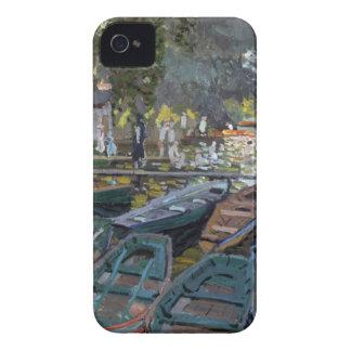 Monet Bathers at La Grenouillère iPhone 4 Covers