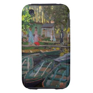 Monet - Bathers iPhone 3 Tough Cases
